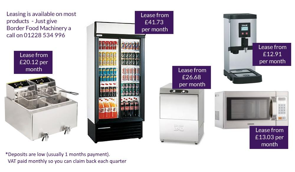 Catering Equipment Leasing Carlisle, Cumbria   Border Food Machinery