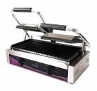 Pantheon CGS2R Double Ribbed Contact Grill