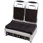 Buffalo Double Contact Grill Ribbed Plates L537