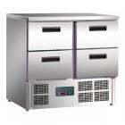 Polar 4 Drawer Compact Counter Fridge 240 Ltr
