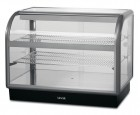 Lincat Seal 650 Series Counter-top Curved Front Ambient Merchandiser - Back-Service - C6A/100B