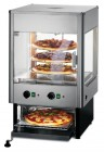 Lincat UMO50 Upright Heated Merchandiser With Rotating Rack And Built-In Oven