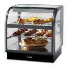 Lincat Seal 650 Series Counter-top Curved Front Ambient Merchandiser - Back-Service - C6A/75B