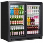 Tefcold BA20S Double Door Sliding Bottle Cooler