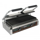 Blizzard 3600w Double Contact Grill - Ribbed