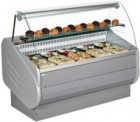 Interlevin Italia MASTER Curved Glass Serve Over Counter