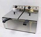 Select Counter Top Electric Fryer Twin Tank - 2 x 10 Litre