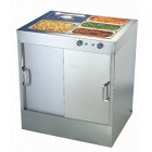 Hot Cupboard with Bain Marie Top 30 plates