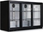 Tefcold BA30S Triple Door Sliding Bottle Cooler