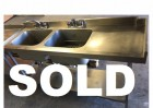 Second Hand Stainless Steel Sink Unit - 1.7m - NOW SOLD