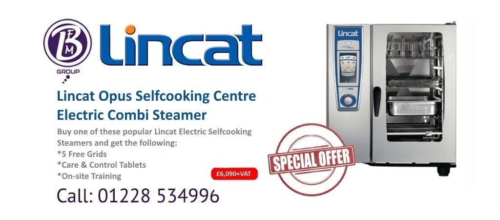 lincat opus selfcooking steamer