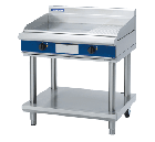Blue Seal Evolution Series - 900mm Electric Griddle - Leg Stand - EP516-LS