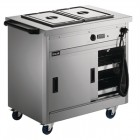 Lincat Panther 670 Series Hot Cupboard with two Bain Marie tops 1/1 GN P6B2